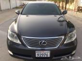 للبيع لكزس LS460L موديل 2008 وكالة البحرين