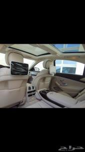 للبيع مرسيدس S500 أبيض معدل S63