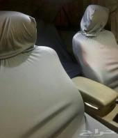 تلبيسة حماية مقاعد السيارة - قماش فرنسي - مقاومه للحرارة والشمس