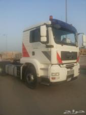شاحنة مان 2007 حجم 18400 مع السواق