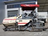 للبيع فرادة اسفلت فوقل Vogele S 1800-1 موديل 2003 نظيفة و بحالة جيدة