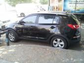 كيا.سبورتاج.موديل2013 نظيفة جدا للبيع 4WD