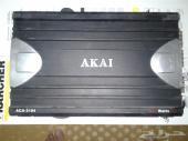 مضخم صوت سيارة AKAIA 2104   1200W