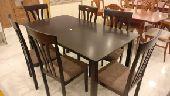 طاولات خشب ماليزي مع التركيب