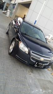 سيارة ماليبو 2012 نظيفة للبيع
