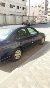 سياره للبيع هوندا سيفك 2003