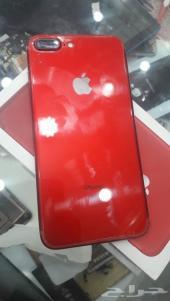 للبيع  ايفون 7 بلس احمر