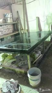 مصنع رخام صناعي وفيبر جلاص للبيع