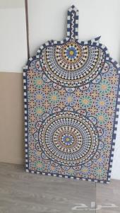 فسيفساء مغربي جدارية سقاية نافورة