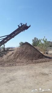 متخصصون في بيع الرمل بأنوعه في المدينة المنور