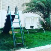 استراحة للايجار - يوجد مسبح اطفال