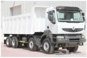 للبيع شاحنات قلاب رينو 4 محاور جديدة 2014