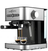 ماكينة تحضير القهوة  15 بار  فضي - M(ايدولف)