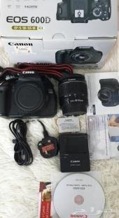 Canon 600D For Sale  كاميرا كانون