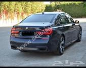BMW 750 LI 2016 اللون اسود ملكي