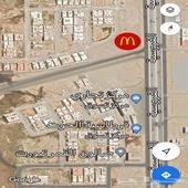 محلات للإيجار بموقع مميز بالقرب من ماكدونالدز ( تحت الانشاء)