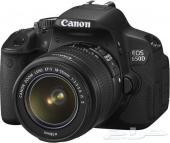 كاميرا إحترافية كانون Canon 650D