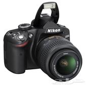كاميراتين نيكون d7000 و d3200