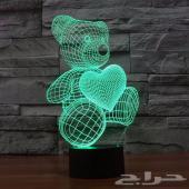 إضائة ثلاثية الابعاد 3D