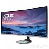 شاشة قيمنق ASUS DESIGNO CURVED MX34VQ 34