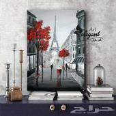 لوحات canvas جدارية برسومات عالمية