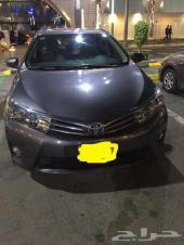 للتنازل سيارة تويوتا كورولا 2015