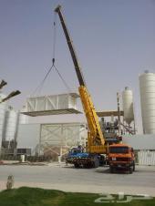 كرين 160طن الرياض