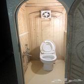 حمامات فيبر عربي وفرنجي للبيع