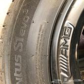 جنوط مرسيدس AMG وكاله مع الكفرات