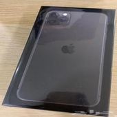 جوال ايفون 11 برو ماكس 64 قيقا لون اسود فلكي (جراي)