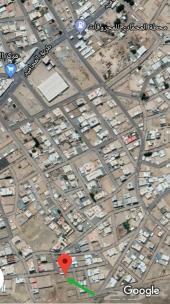 أرض مسوره مساحة 1800م بالمحاميد