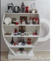 ركن قهوة شكل مميز للبيع وطاولات