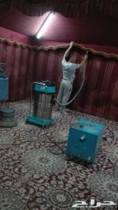 شركة تنظيف فلل خزانات مسابح مجالس كنب فرش سجا