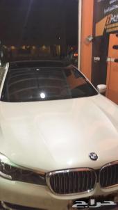 تجليد سقف بانوراما لل BMW  الفئة السابعه