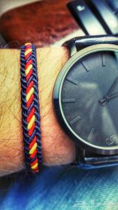ساعة جلد اصلي سويدي ياباني