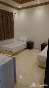 غرف فندقيه(عزاب)للحجز بشهر رمضان المبارك