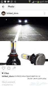 لمبات ليد LED بديل الزنون لجميع السيارات