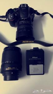للبيع كاميرا نيكون D5500
