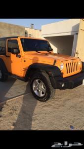رانجلر 2012 للبيع او البدل بسيارة اربعة ابواب