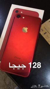 ايفون 7 الأحمر مستخدم 128
