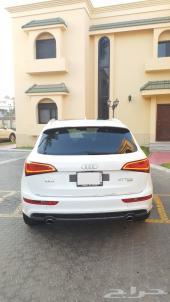 أودي Q5 فل أوبشن لون أبيض نظيف جدا موديل 2015