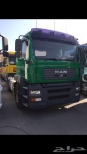شاحنة مان 2006 مع سطحه الحد 65