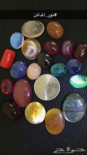 مجموعة أحجار كريمة و خواتم جملة و قطاعي