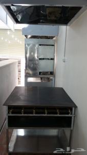 ادوات بوفيه صاج مطبق وقلايه بطاطس  للبيع