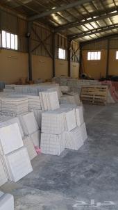 مصنع حجر صناعي وبلاط وانترلوك وبلدورات للبيع
