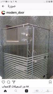 تركيب زجاج حمامات شاور .المصنع الوطني لحبيبا