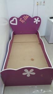 سرير اطفال فله خشب