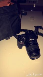 كاميرا نيكون D5200 شبه جديده