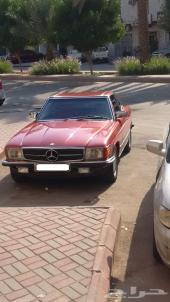 مرسدس كشف 280SL  1982 لون أحمر