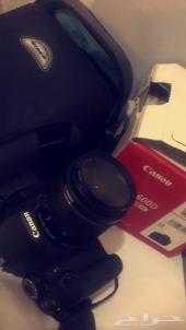 كاميرا كانون 600D .